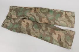Wehrmacht splinter camo straight trousers
