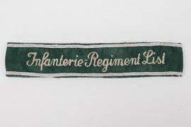 Infanterie-Regiment List cuff title - EM/NCO