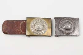 Prussia - two EM/NCO buckles