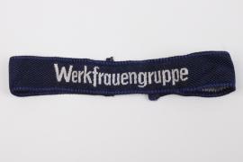 """DAF """"Werkfrauengruppe"""" cuff title"""