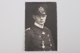Konteradmiral Hans Walther portrait photo - Pour le Mérite winner
