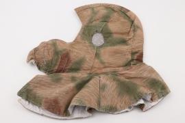 Wehrmacht reversible tan & water winter hat - E.REITZ Antwerpen