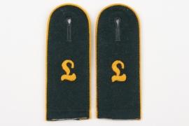 Heer Panzeraufklärungslehr-Abteilung Krampnitz EM shoulder boards for parade tunic