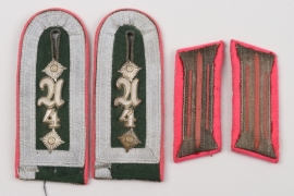 Heer Panzer Abw.Abt.4 shoulder boards for an Oberfeldwebel