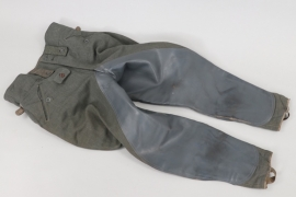 Heer M43 NCO's riding breeches - 1944 (Rb-numbered)