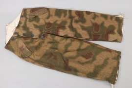 Wehrmacht reversible tan & water winter camo trousers - unissued!