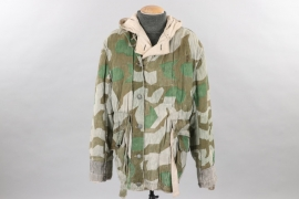 Wehrmacht splinter camo reversible winter parka