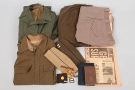 USA - uniforms, magzines, patches
