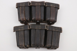 Wehrmacht two K98 magazine pouches