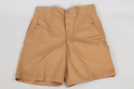 Kriegsmarine tropical shorts - Rb-numbered