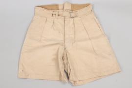 Luftwaffe tropical shorts - maker marked