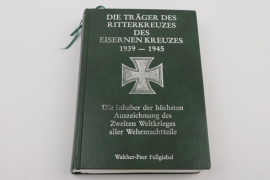 Autograph collection of Knight's Cross winners - signed book