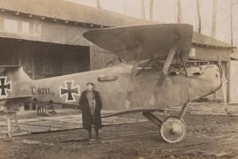 WWI Fliegerabteilung 18 photo album to Karl Freytag