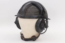 "Heer headset ""Doppelfernhörer"" for amoured troops with net"