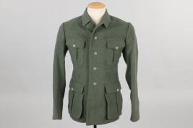 Heer M40 field tunic with removed insignia - N.V.H. BERDHAUS