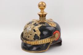 Württemberg - M1871 Fußartillerie reserve officer's spike helmet