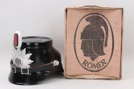 Schleswig-Holstein - police shako EM in original RÖMER box