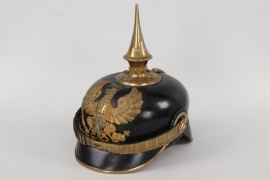 Prussia - M1891 infantry reserve officer's spike helmet