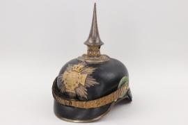 Saxony - M1871 Pionier reserve officer's spike helmet