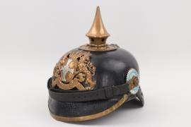 Bavaria - M1886 infantry spike helmet - reserve NCO