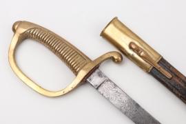 Gendarmerie sabre with etached blade - Schneider