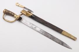 "Prussia - Garde du Corps forestry dagger ""Hirschfänger"""