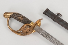 Prussian officer's sword IOD 89 to Hptm. Lackner - Erfurt & Weyersberg