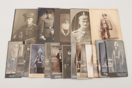 Lot of imperial hardcover portrait photographs
