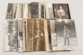 WW1 73 mixed lot of photographs