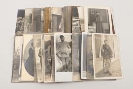 WW1 mixed lot of 82 portrait photographs