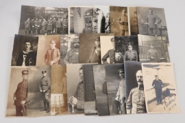WW1 interesting lot of portrait photographs