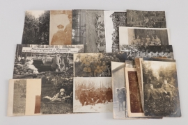 WW1 23 MG related photographs