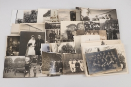 WW1 lot of Kaiserliche Marine related photographs with Kronprinz Friedrich Wilhelm