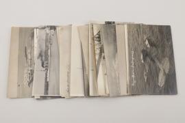 WW1 21 aircraft & ship related photographs