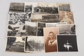 Lot 18 Reichswehr & Reichsmarine related photographs