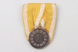 Prussia - Lifesaving Medal on medal bar - 4th pattern