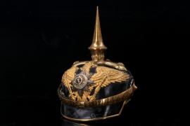 Prussia - M1891 1. Guard Dragoon Regiment officer's spike helmet