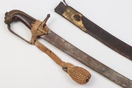 Prima Plana sabre with portepee - around 1740