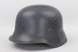 Lt. Frank - Luftwaffe ex double decal parade helmet - EREL