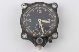 Luftwaffe chronograph cockpit clock to Lt. Schlegel - Junghans