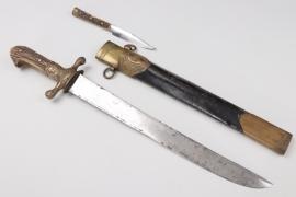 "Hunting dagger ""Hirschfänger"""