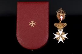 Austria - Order of the Knights of Malta, Commander Cross
