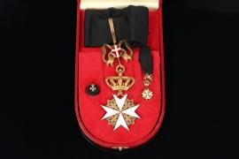 Austria - Order of the Knight of Malta Magistral Commander Badge