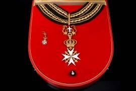 Austria - Order of the knight of Malta - Magistral Grand Cross Set