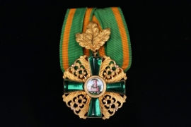 Baden - Order of the Zaehringer Lion Knight Cross 1st Class with Oak Leaf