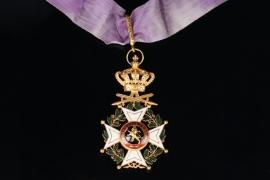 Belgium - Leopold Order - Commander Cross with Swords