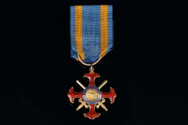 Kingdom of the Two Sicilies - Royal Military Order of St. George of the Reunion - Knight by Favor