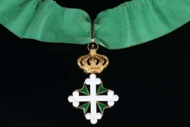 Italy - Order of St. Maurice and Lazarus, Commander Cross 2nd Class in Gold