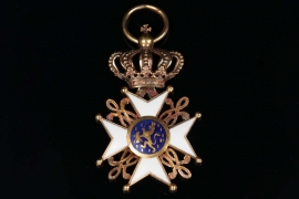Netherlands - Order of the Dutch Lion, Reduction