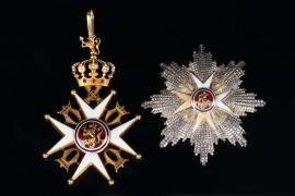 Norway - Order of St. Olav - Grand Cross Set, II Type